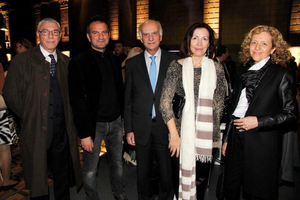 Con l'Ambasciatore Italiano in Argentina Giuseppe Manzo, Museo d'arte moderna MAMBA, Buenos Aires 2013