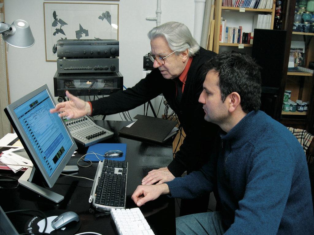 Con Mauro Bortolotti, LER laboratorio di estetica del rumore, Roma 2013