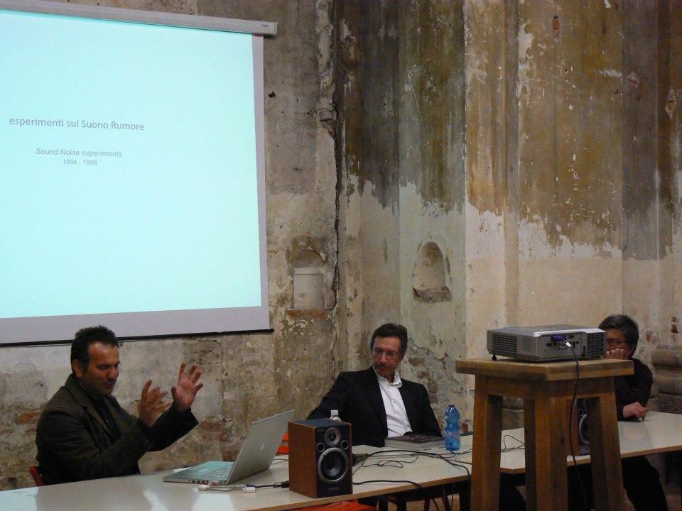 Con Roberto Favaro, Accademia di Belle Arti di Brera, Milano 2014