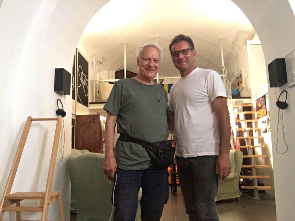 Con Roberto Perpignani, LER laboratorio di estetica del rumore, Roma 2018