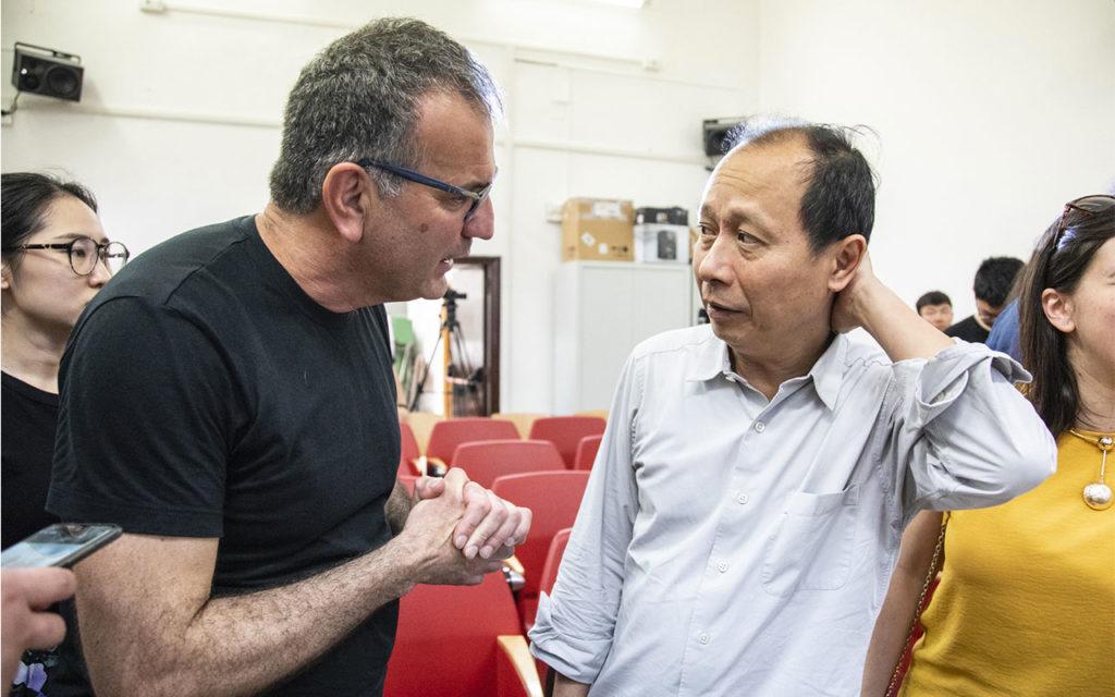Con Hou Hanru, Accademia di Belle Arti di Roma, 2019
