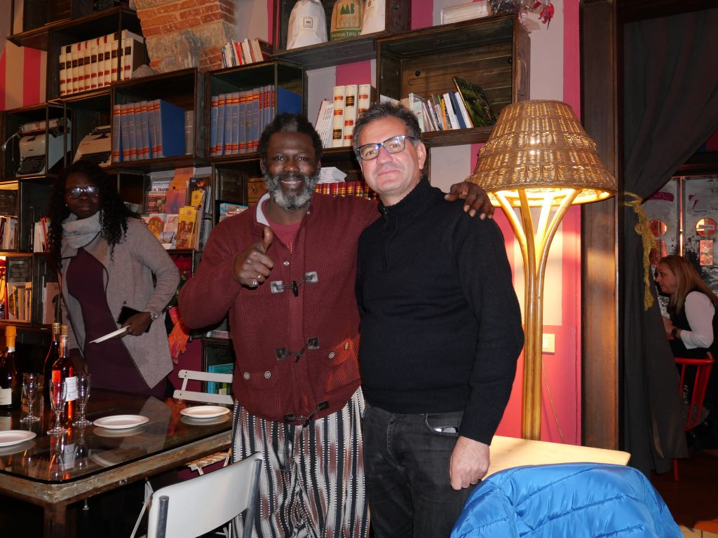 Con Baba Sissoko, MAD Murate Art District, Firenze 2019