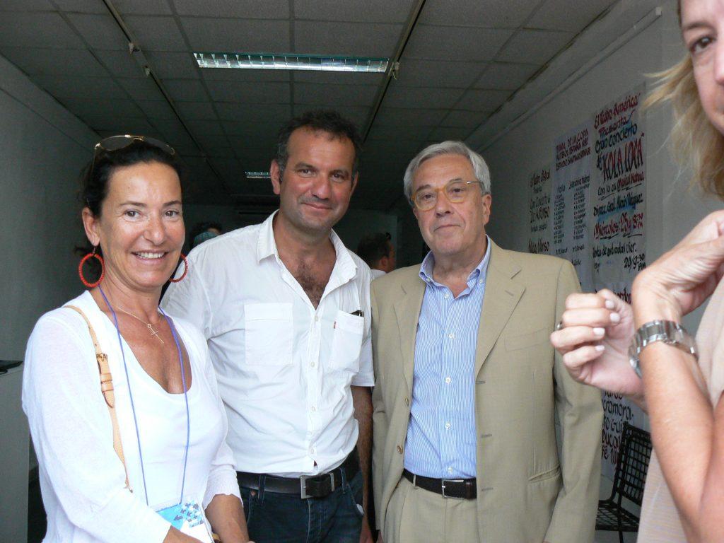 Con l'ambasciatore italiano a Cuba, 11.Biennale Arte, L'Avana 2012