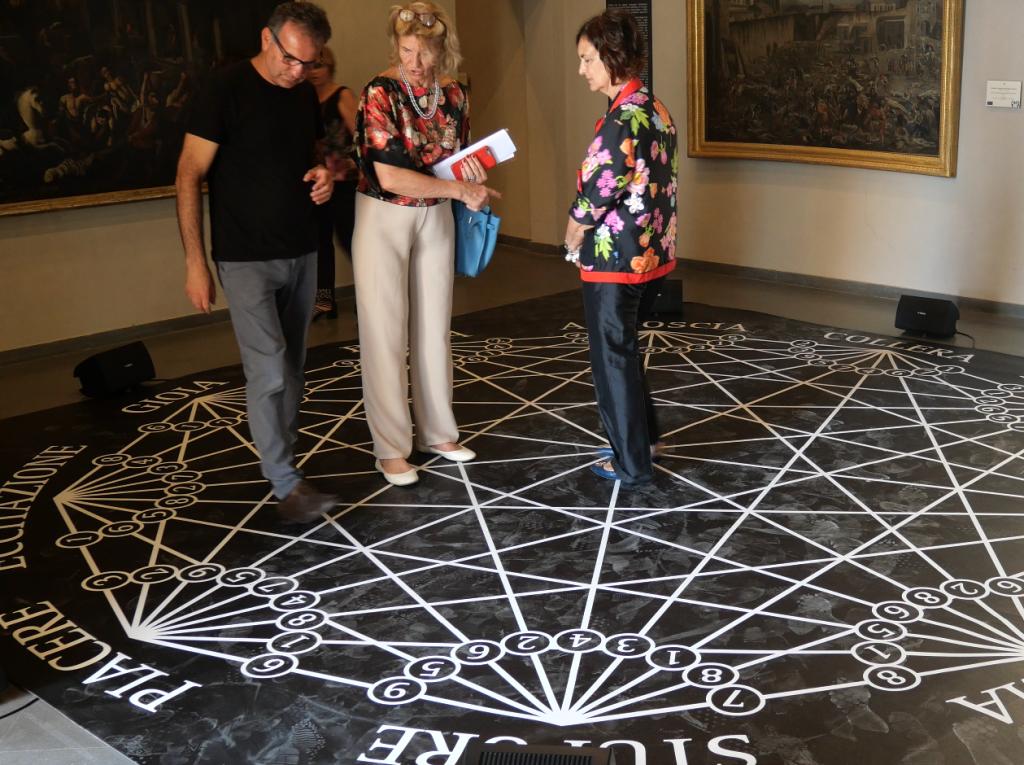 Con Anna Imponente e Patrizia Bordoni, Museo della Certosa di San Martino, Napoli 2019